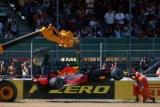 Понять разбил машину во время тренировки на Гран-при Великобритании