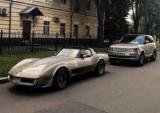 В Киеве заметили сказочные Шевроле Корвет