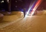 В Канаде полиция хотела оштрафовать авто от снега