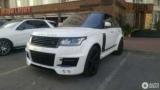 В Україні засвітився ексклюзивний Range Rover