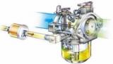 Пристрій системи живлення бензинового двигуна