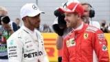 Феттель и Хэмилтон обменялись шлемами после Гран-при Абу-Даби