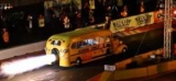В США на школьный автобус установили двигатель от истребителя